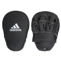 "Лапы FOCUS MITT LEATHER 10"" чёрные"
